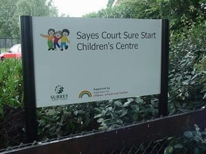 Sayes-Court-School